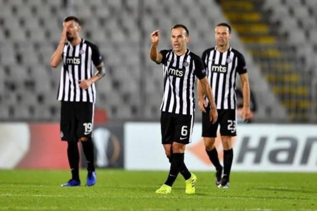 Le Partizan bat l'Etoile Rouge en demi-finale de la Coupe de Serbie dans un stade plein