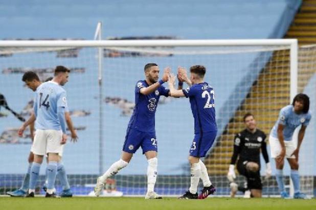 Belgen in het buitenland - Manchester City is zonder De Bruyne nog geen kampioen na thuisnederlaag tegen Chelsea