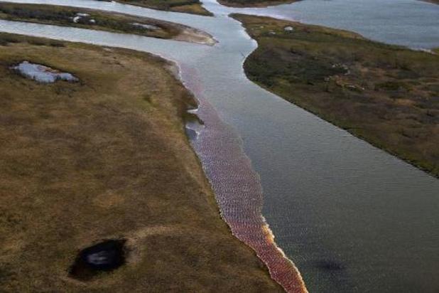 Brandstof bereikt zoetwatermeer