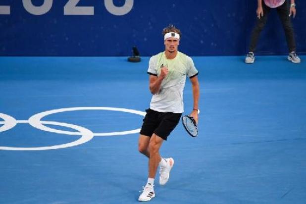 JO 2020 - Alexander Zverev se pare d'or et devient le premier Allemand champion olympique de tennis