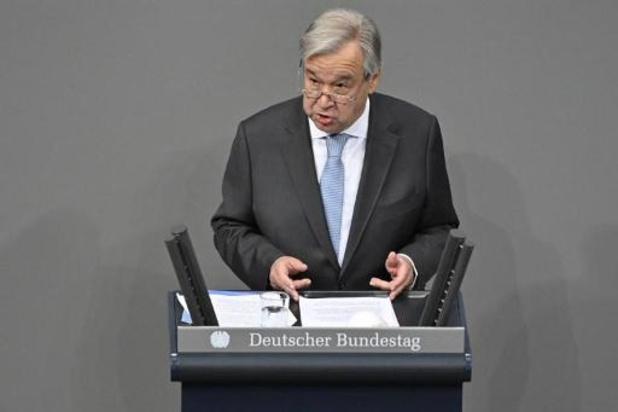 Antonio Guterres candidat à un second mandat à l'ONU