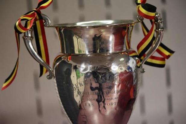 Croky Cup - Eupen-Standard en Anderlecht-Genk in halve finales