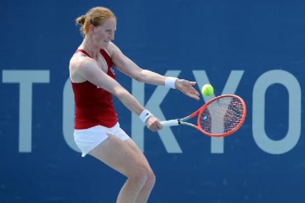 WTA Montréal - Alison Van Uytvanck rejoint Elise Mertens dans le tableau final