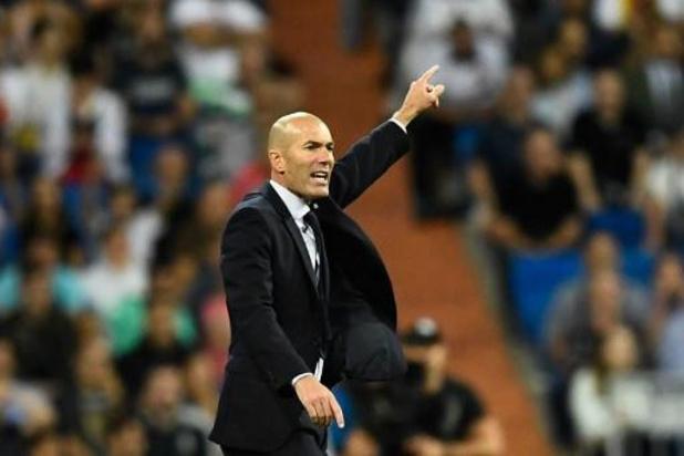 """Champions League - Zidane geeft korte uitleg bij wissel Courtois: """"Hij voelde zich gewoon niet goed"""""""