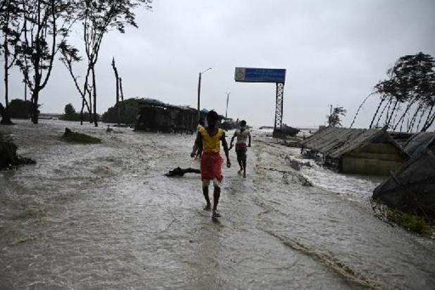 Zware cycloon Yaas aan land in India