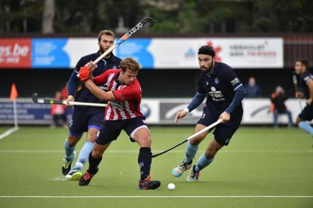 Belgian Men Hockey League - Orée lijdt eerste nederlaag van seizoen tegen Léopold, Gent wint van Leuven