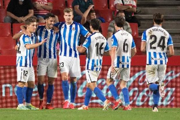 Belgen in het buitenland - Sociedad wint met invaller Januzaj bij Granada