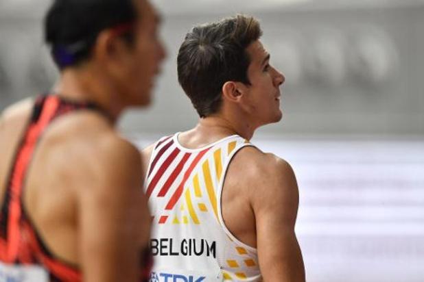 Thomas Van der Plaetsen à 6 cm de son record du disque, 7e épreuve du décathlon