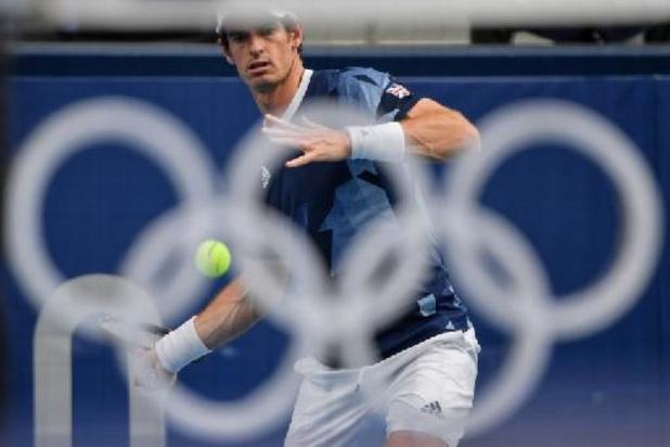 Geen derde olympische titel voor Andy Murray