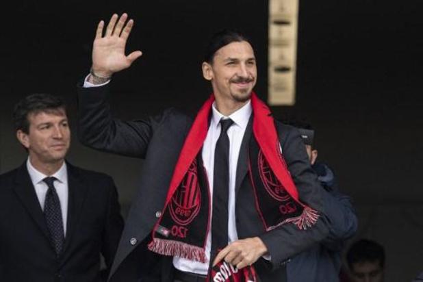 """Zlatan Ibrahimovic n'est pas retourné à Milan """"pour être la mascotte"""""""