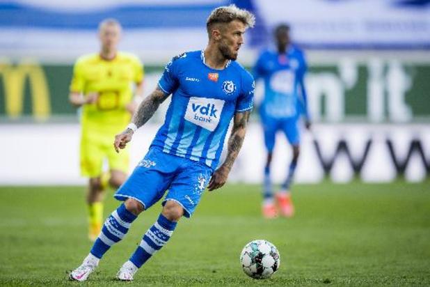Niklas Dorsch quitte La Gantoise pour Augsbourg en Bundesliga
