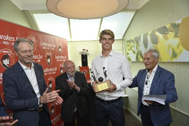 Intempéries: le Trophée Raymond Goethals fait un don de 20.000 euros à la Croix-Rouge