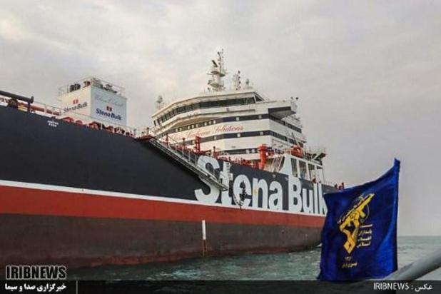 Britse olietanker nog steeds in Iran