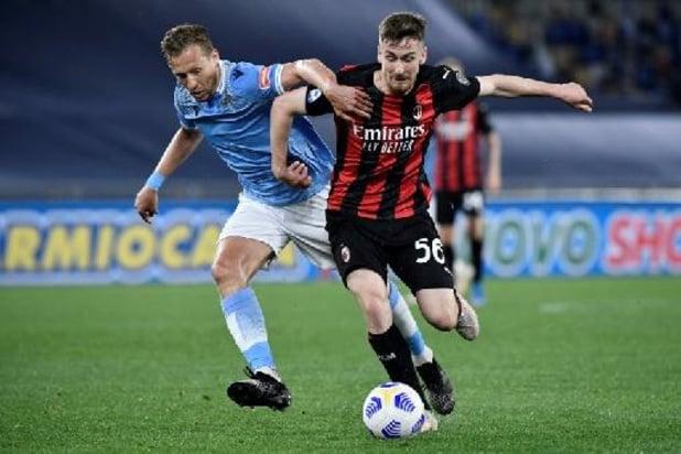 L'AC Milan et Saelemaekers battus à la Lazio, intense lutte pour le top 4 en vue