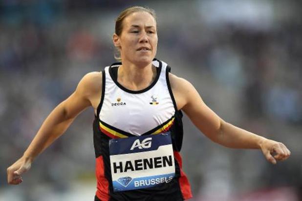 Gitte Haenen sprint op 100 meter naar brons en tweede medaille