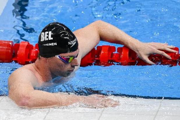 OS 2020 - Geen finale 200 meter vlinderslag voor Louis Croenen