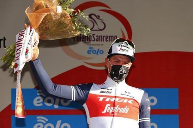 Stuyven s'impose à Sanremo et s'offre le premier Monument de sa carrière