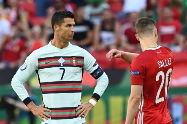 Cristiano Ronaldo begint als eerste speler aan zijn vijfde EK