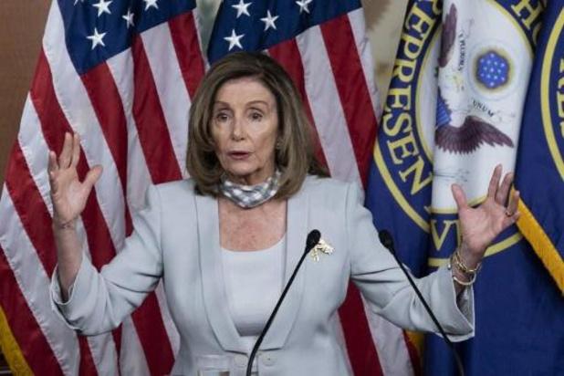 Amerikaanse presidentsverkiezingen 2020 - Pelosi roept Huis terug uit zomerreces vanwege problemen met postbedrijf