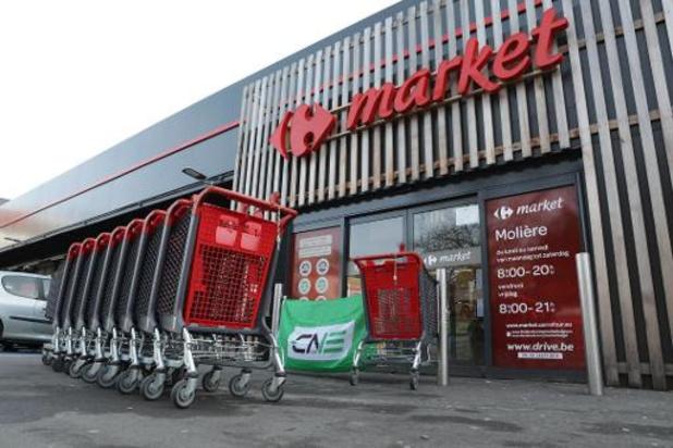 Les supermarchés belges font don de 460.000 repas aux banques alimentaires