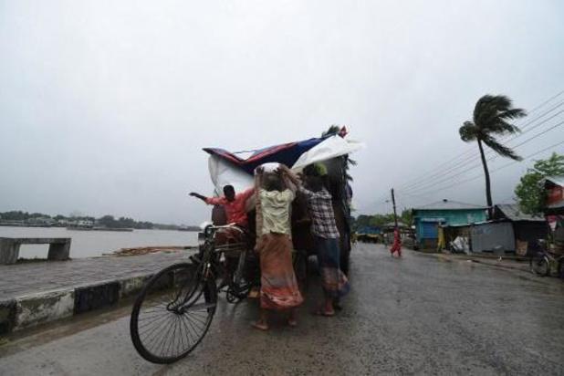Miljoenen mensen geëvacueerd in Bangladesh en India vanwege cycloon Amphan