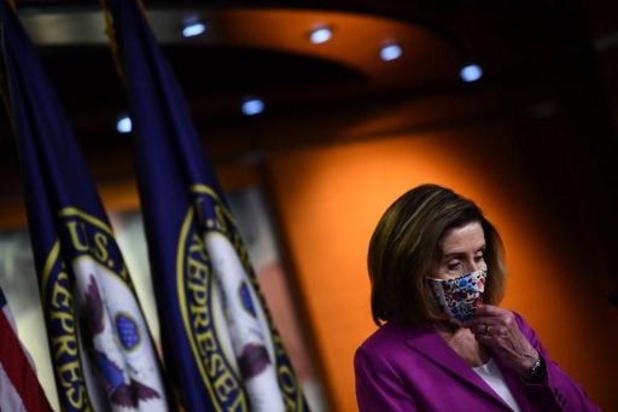 Capitool bestormd: Democratische leider Nancy Pelosi eist strafrechtelijke vervolging Donald Trump