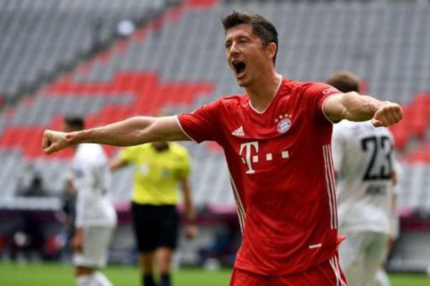 Robert Lewandowski élu joueur de la saison dans la Bundesliga