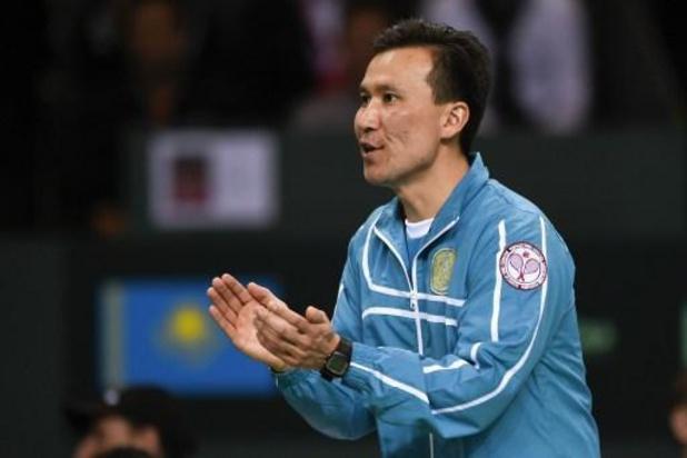 Le capitaine de Kazakhstan s'attend à un duel serré avec la Belgique en Fed Cup