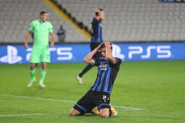 Champions League - Club Brugge moet Sobol ook missen tegen Borussia Dortmund