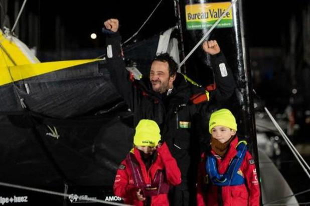 Yannick Bestaven wint oceaanrace Vendée Globe 2020