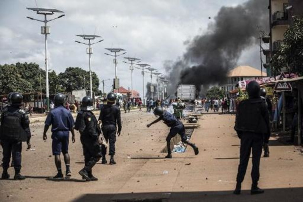 Tien doden bij post-electoraal geweld in Guinee