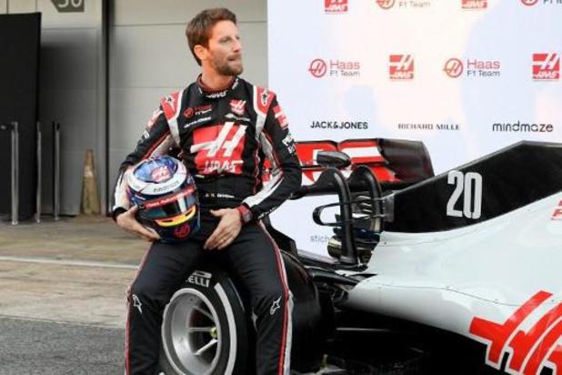 Le pilote de F1 français Romain Grosjean quittera Haas en fin de saison