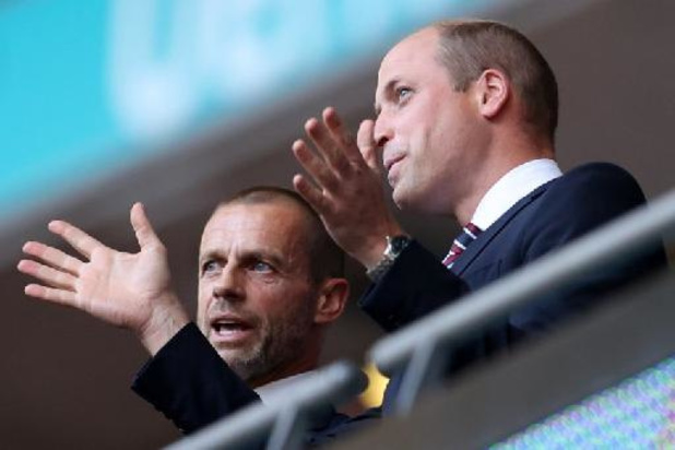 "Britse prins William spreekt nationale elf toe: ""Het hele land staat achter jullie"""