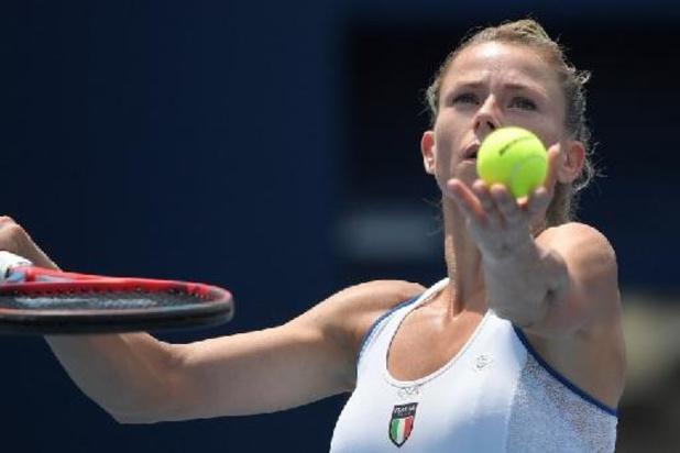 WTA Montreal - Giorgi troeft Pliskova in finale af