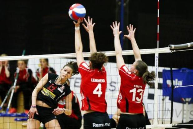 Coupe de Belgique de volley (d) - Oudegem et Asterix AVO prennent une option sur la finale