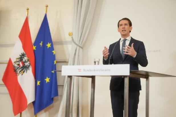 Démission de Sebastian Kurz - Le chancelier autrichien Kurz, soupçonné de corruption, annonce sa démission
