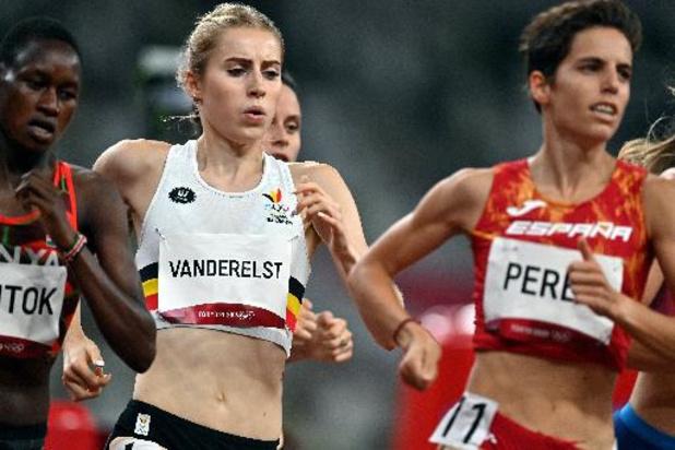 """Elise Vanderelst n'a pas pu """"accélérer dans le moment de vérité"""" en demi-finale du 1.500 m"""