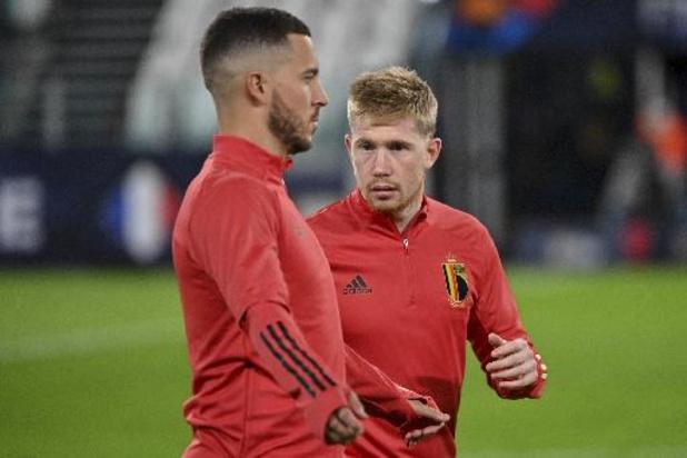 Rode Duivels - Belgen openen jacht op eerste trofee met wedstrijd van de revanche tegen Frankrijk