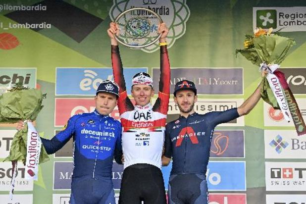 """Ronde van Lombardije - Streekrenner Masnada: """"Tweede plaats voelt een beetje als zege"""""""