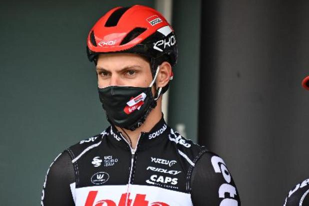 Ronde van Limburg - Brent Van Moer in zak en as na wegvergissing
