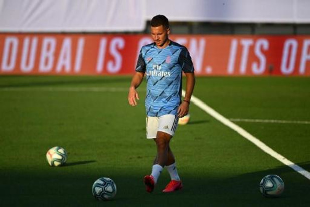 Les Belges à l'étranger - Eden Hazard absent de la sélection du Real pour le dernier match de la saison