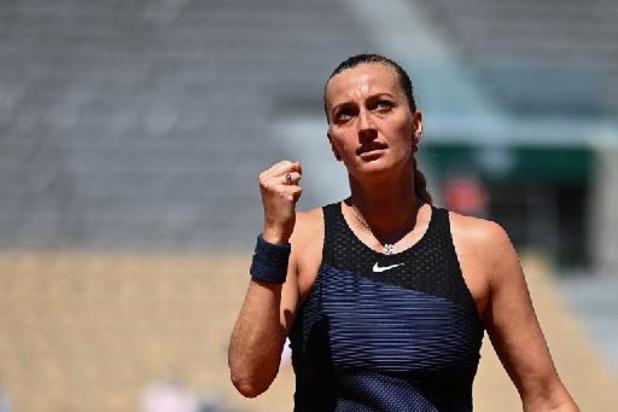 Petra Kvitova trekt zich terug met enkelblessure