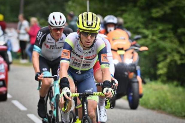 """Bakelants kleurde etappe: """"Wou tonen dat ik nog een goede renner ben"""""""
