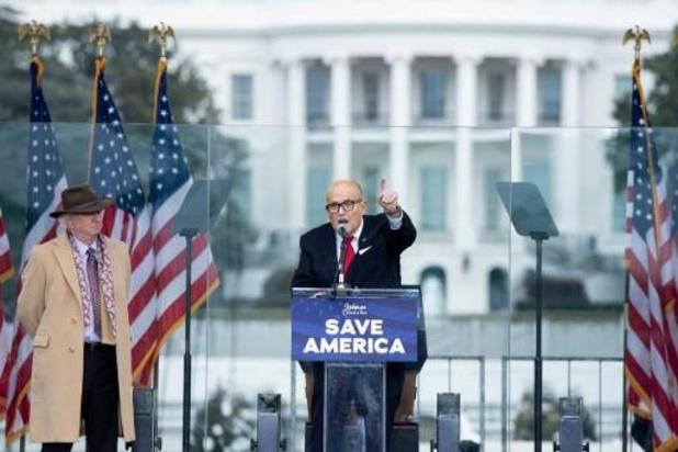 Balievereniging van New York onderzoekt lidmaatschap Rudy Giuliani