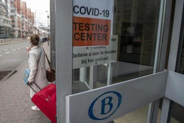 Afgelopen weekend bijna 2.000 COVID-testen in station Brussel-Zuid