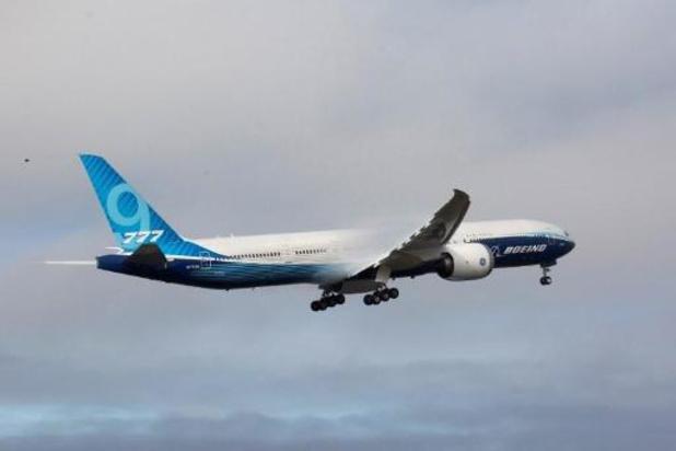 Testvlucht met Boeing 777X afgerond