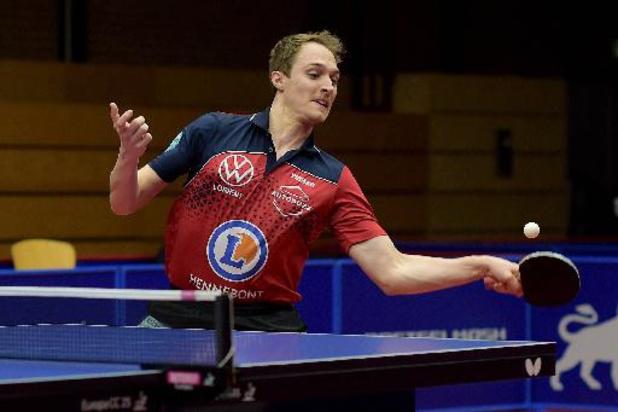 Tournoi européen de qualification olympique - Cédric Nuytinck en bonne position pour atteindre le 2e tour