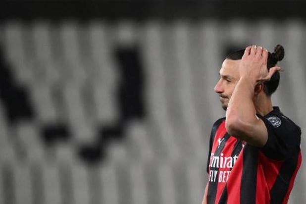 Les Belges à l'étranger - L'AC Milan, battu au Spezia, loupe le coche