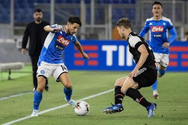 Les Belges à l'étranger - Naples s'incline à Parme, Dries Mertens reste sur le banc