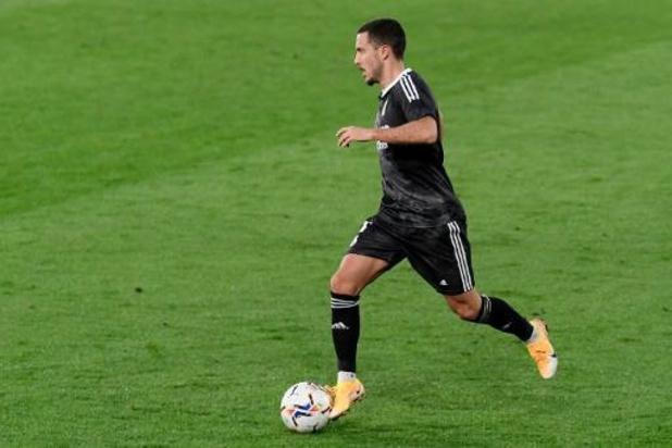 Eden Hazard dans la sélection du Real pour le match contre Grenade